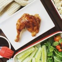 Cuisse de poulet BBQ... avec la meilleure sauce BBQ au monde!