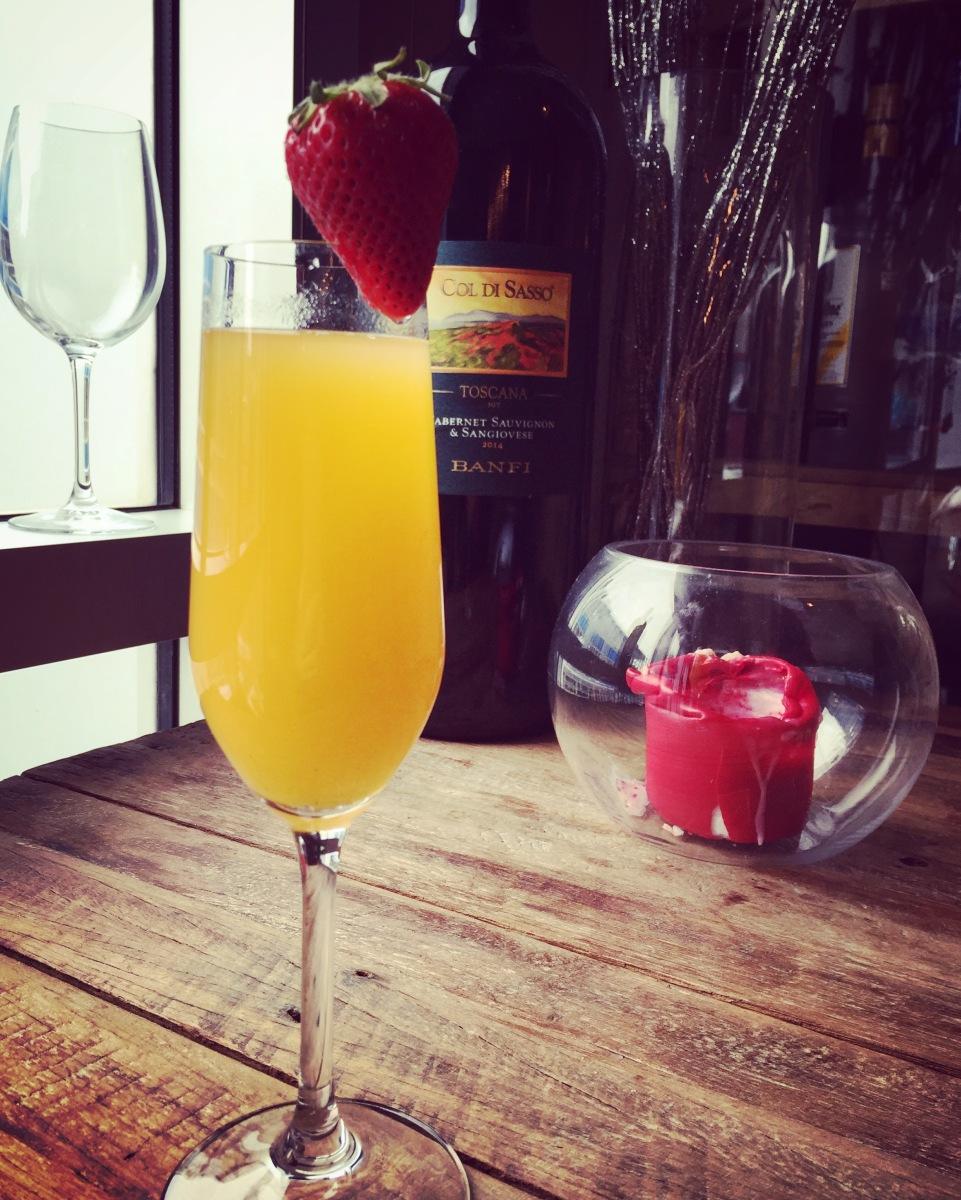 Un mimosa à l'accueil