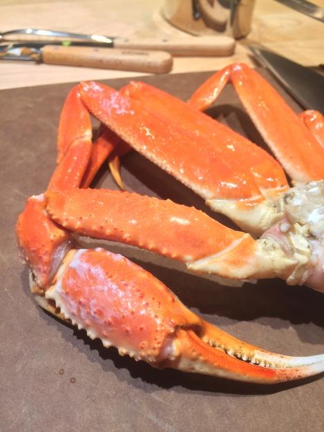 Je craque pour le crabe!