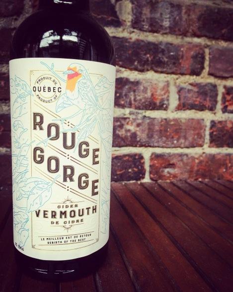 Vermouth de cidre Rouge Gorge des Vergers Lafrance