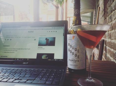 Manhattan au vermouth de cidre des Vergers Lafrance