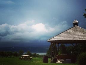 Un orage? Pas grave, c'est beau pareil!