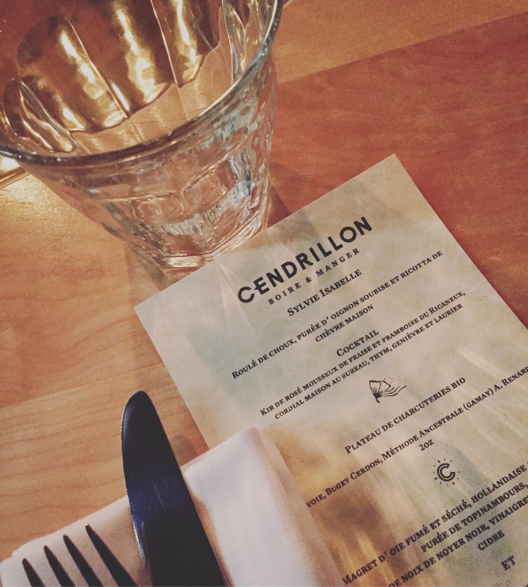 Être reçus avec un menu à son nom!
