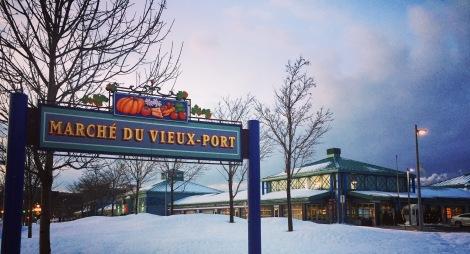 Le Marché du Vieux-Port en janvier