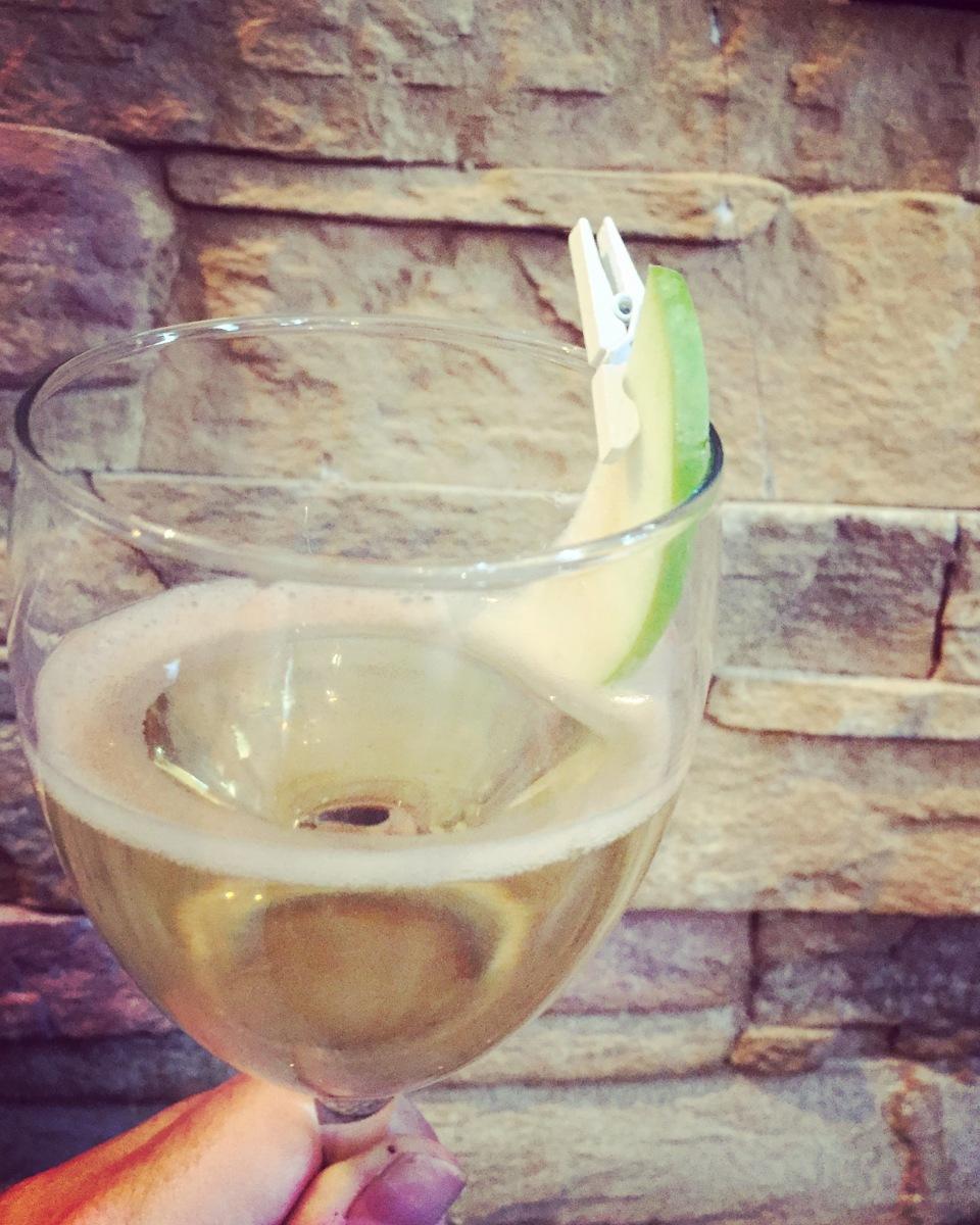 Le cocktail Granny à la Smith du cendrillon - tout simple en apparences, mais riche en nuances!