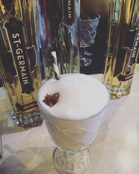 Le Fleur Fizz, cocktail de l'Atelier