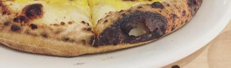 Mon coup de coeur - la pizza au citron. ENCORE!