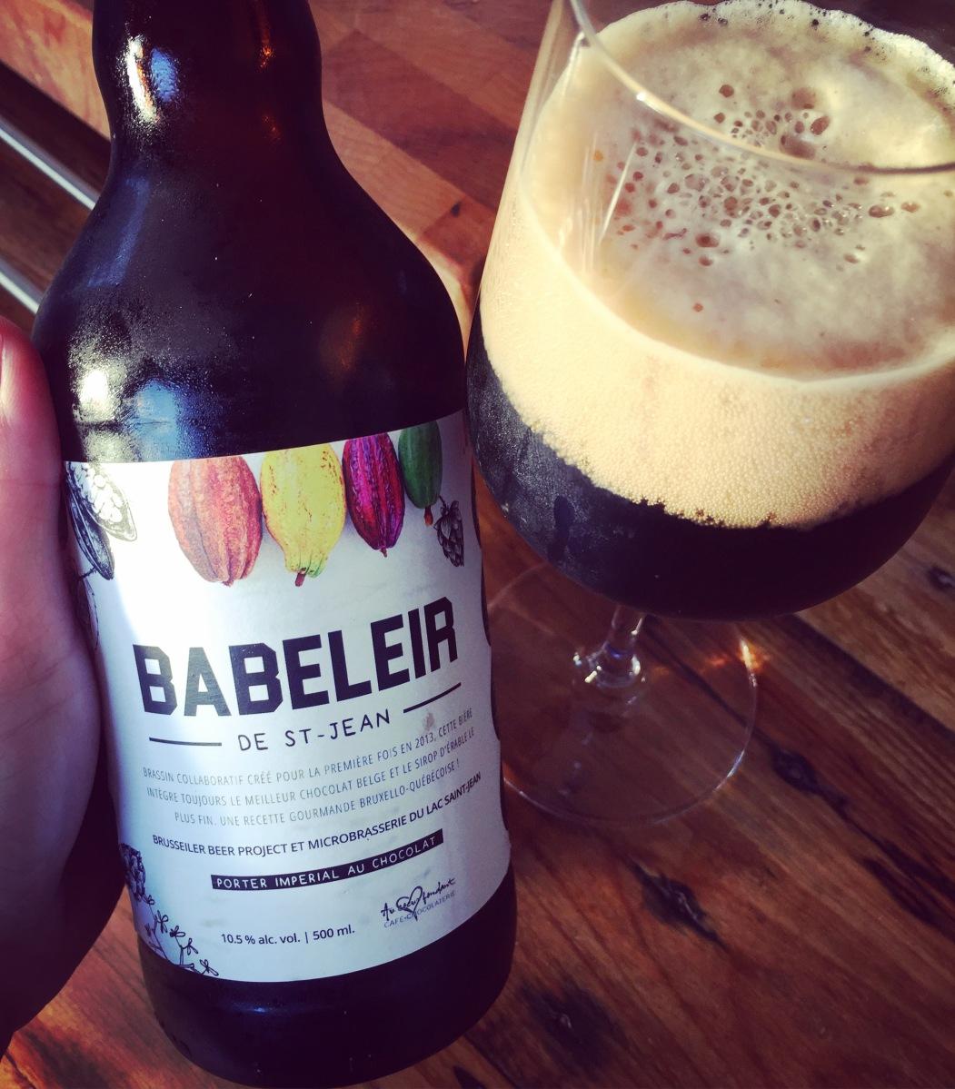 Babeleir - Porter impérial - Microbrasserie du Lac-St-Jean