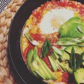 Oeufs sur sauce tomate, façon mexicaine